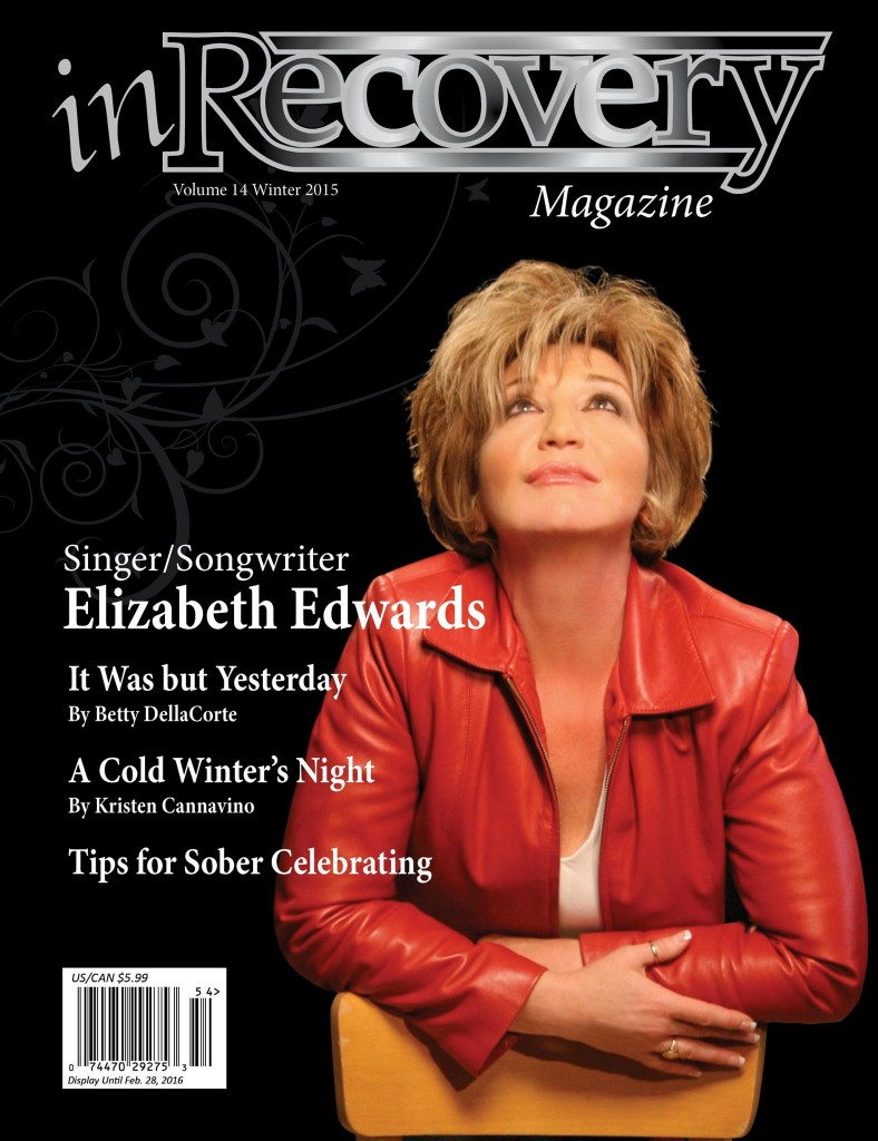 On the Cover - In Recovery Magazine Winter 2015